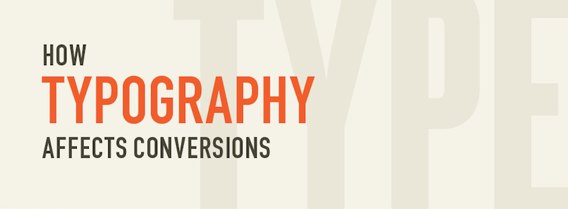 How typography affects conversions