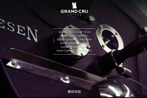 Gran Cru Coffee Website