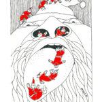 Christmas card design. Bridgid McLean.