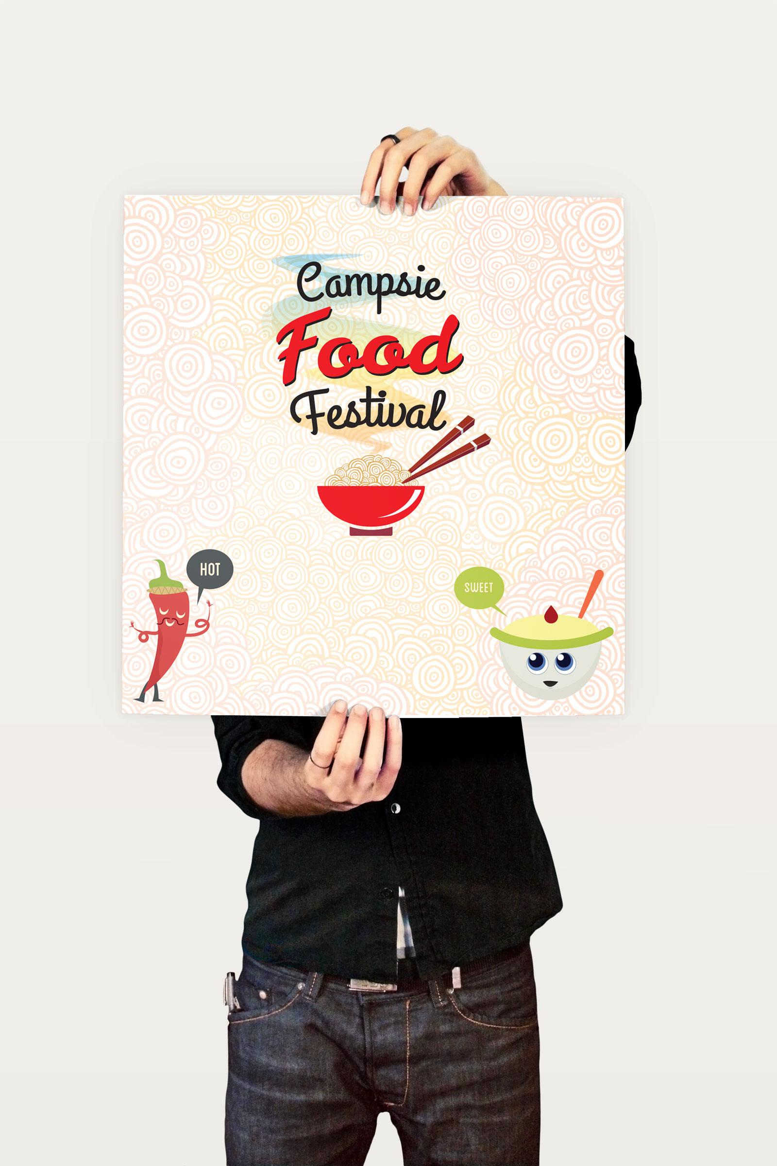 Campsie Food Festival Poster 2